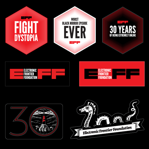 EFF30 Multisticker Sheet