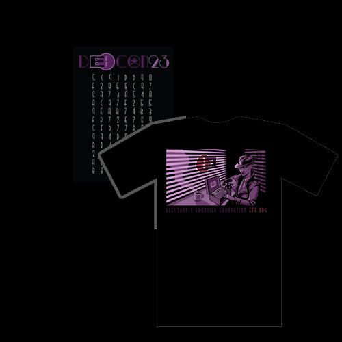 DC23 Crypto Noir Member T-Shirt