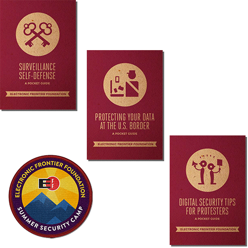 Security Guides & Limited-Edition Patch