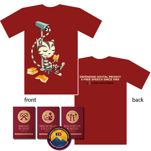 Freedom Cat T-Shirt, Security Guides, & Limited-Edition Patch