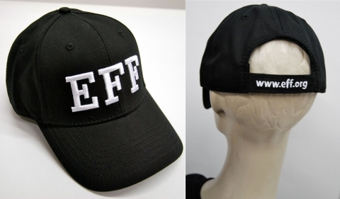 EFF 'FBI' Hat