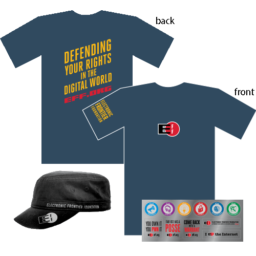 Donor Combo: Defend Shirt, Hat, and Sticker Sheet
